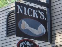 Nick's bar near Lake Sebago, Maine