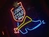 Luckenbach, Texas Lone Star Neon Sign