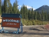Mt Shasta Ski Park Welcome Sign
