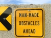 Man Made Obstacles,  Ephrata WA