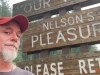 Jim Nelson's Pleasure - Nelson, BC  Town Welcom Sign