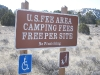 El Moro Campground Cost is Free per Site