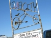 Slab City Community Sign