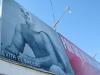 Luchador Billboard Agua Prieta Mexico