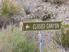 Closed Canyon Trailhead Lajitas Texas