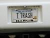 Escapees Trailer Trash License Plate
