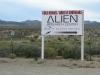 Alien Research Center near Rachel, NV