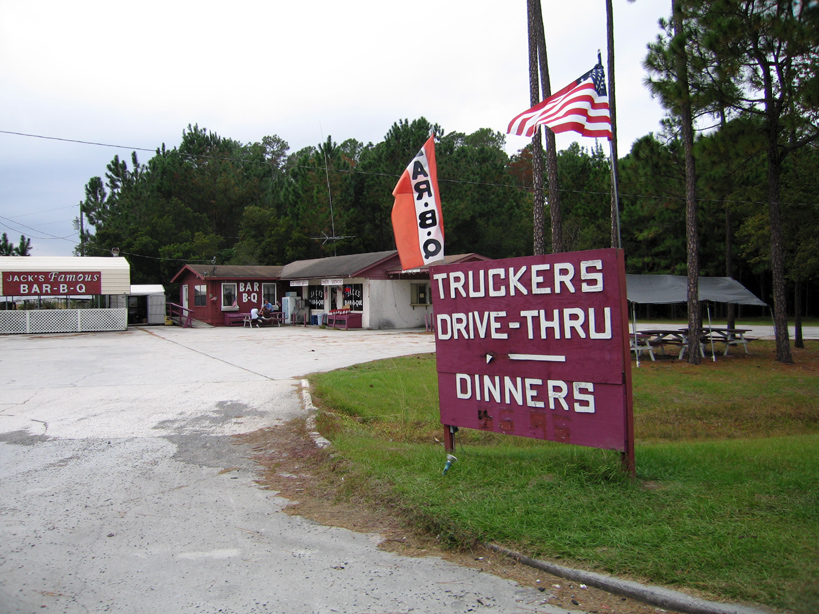 Okefenokee Truckers Drive Thru BBQ