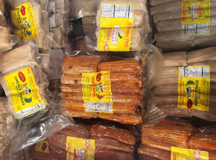 Frozen Santa Fe Tamales to Go
