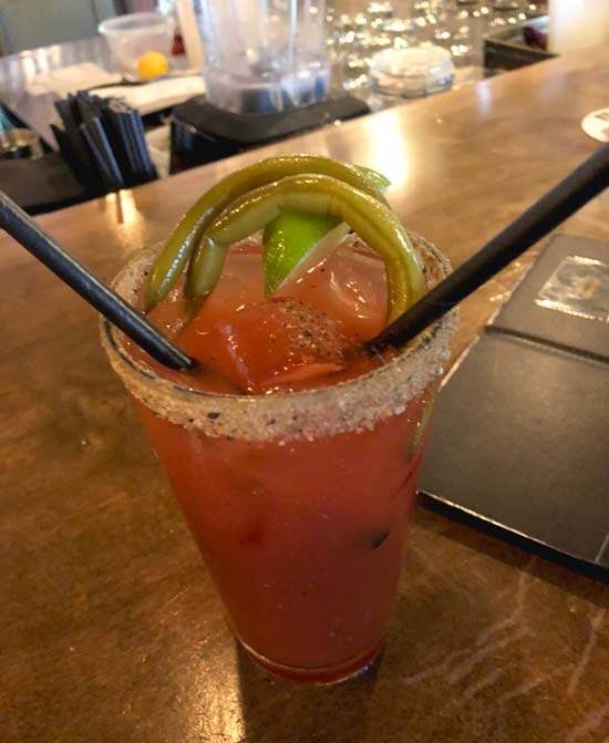 Canadian Bloody Mary cocktail