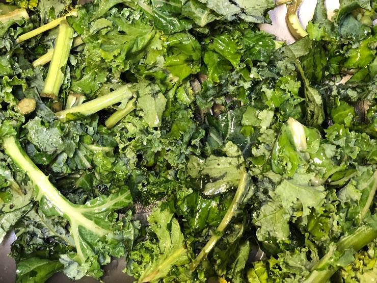 Texas organic panic kale