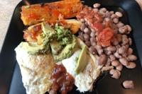 post marathon tamale meal
