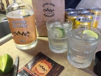 After Dark Distillery Copper Island Gin, Sicamous BC