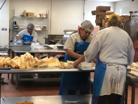 La Posa's Tamale Assembly Line