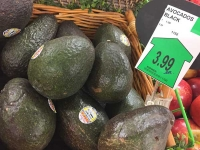 Expensive Avocados, Skagway Alaska