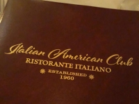 Candle Lit Birthday Dinner at Italian American Club, Las Vegas