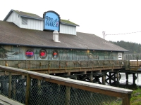 Mos restaurant on the dock in Florence, OR