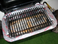 Wrap RV BBQ in Foil for Easy Cleaning