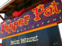 Best Chile Verde y Roja at Pepper Pot in Hatch, New Mexico
