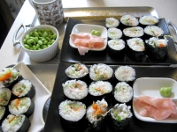 Jim Makes Kitchen Sink Sushi
