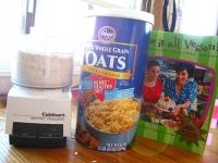 Homemade Vegan Oat Flour