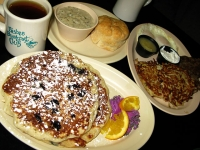 Bisbee Breakfast Club Oatcakes and Potato Pancakes