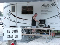 Mmmm....Dump Station RVQ at Landa RV Park
