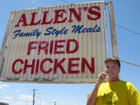 Allens Fried Chicken Sweetwater Texas