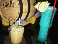 Boat Drinks and Grog at the Golden Tiki, Las Vegas NV