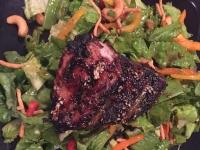 Grilled Tuna on Asian Salad