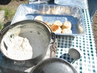 Best Biscuits and Gravy at Vickers Ranch Breakfast Horse Ride