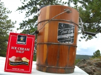 Making Homemade Ice Cream in the Mountains
