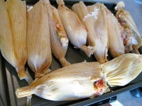 Homemade Tamales in RV Pressure Cooker