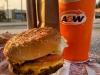 A&W Beyond Meat Burger, Burns Lake, BC