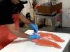 Fresh King Salmon, Quinalt Pride Seafoods, Taholan WA Fish Market