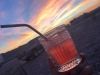 Blood Orange Vodka Sunset