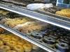 Fresh donuts at Rolling Pin Bakery, San Bruno CA