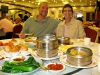Jim and rene get Dim Sum fix at Happy Harbor