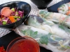 Homemade Kitchen Sink Spring Rolls