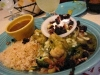 Vegetable Relleno at World Famous Matt's Best Mexican Food Austin, TX