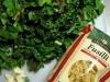 Pressure Cooked Fusilli Greens and Shrimp