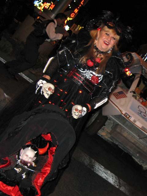 Fremont Street Las Vegas Halloween 2013