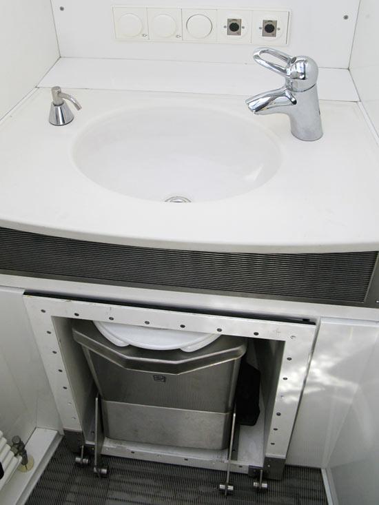 KiraVan Expedition Vehicle Bathroom Incinolet