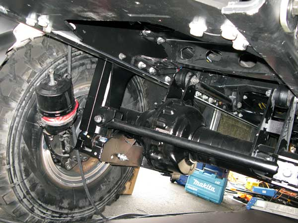 KiraVan Expedition Vehicle PTO Hydraulics Drive Trailer
