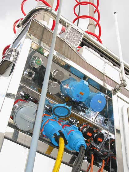 KiraVan Expedition Vehicle System Shore Power