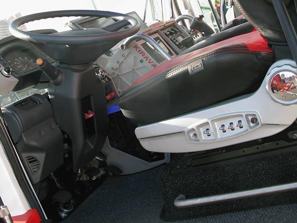 KiraVan Expedition Vehicle Cockpit
