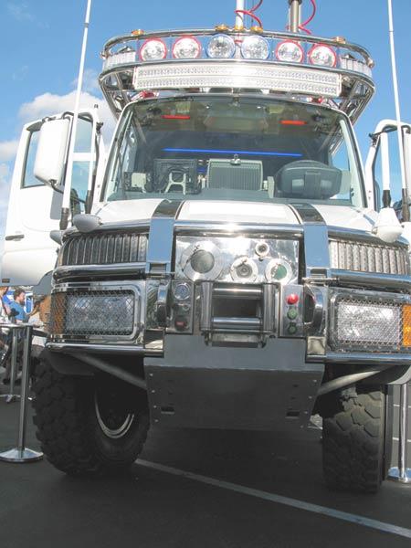 KiraVan Expedition Vehicle System Mercedes Tractor