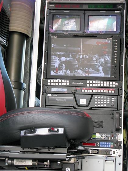 KiraVan Expedition Vehicle Situational Awareness Control Room