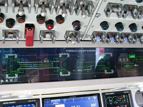 KiraVan Expedition Vehicle Glass Cockpit Monitor