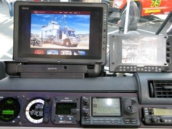 KiraVan Expedition Vehicle Glass Cockpit Monitor
